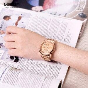 Image 4 - MEGIR Chronograph Women Watches Relogio Feminino Luxury Brand Ladies Sport Wrist Watch Clock Girl Lovers Wristwatches Hour xfcs