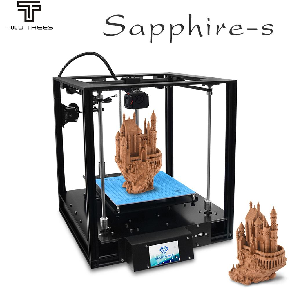 Two Trees New Sapphire S 3D Printer Aluminium Profile With Frame CoreXY Structure DIY Kits 3D
