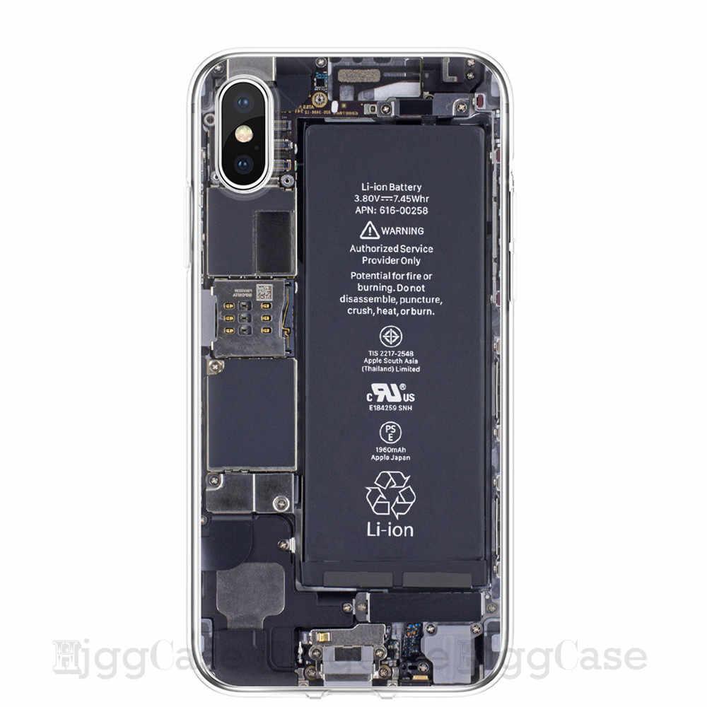 Retro Kamera Kassette Bänder Rechner Tastatur Weichen Telefon Fundas Fall Für iPhone 11 Pro MAX XS Max X XR 6 6S 7 8 Plus 5 5S SE