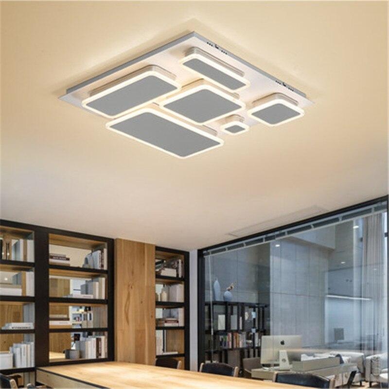 Good Awesome Moderne Led Plafonnier Pour Salon V Accueil Dcoratif Luminaire  Au Plafond Lampe De With Plafonnier Design With Eclairage Salon Sans  Plafonnier ...