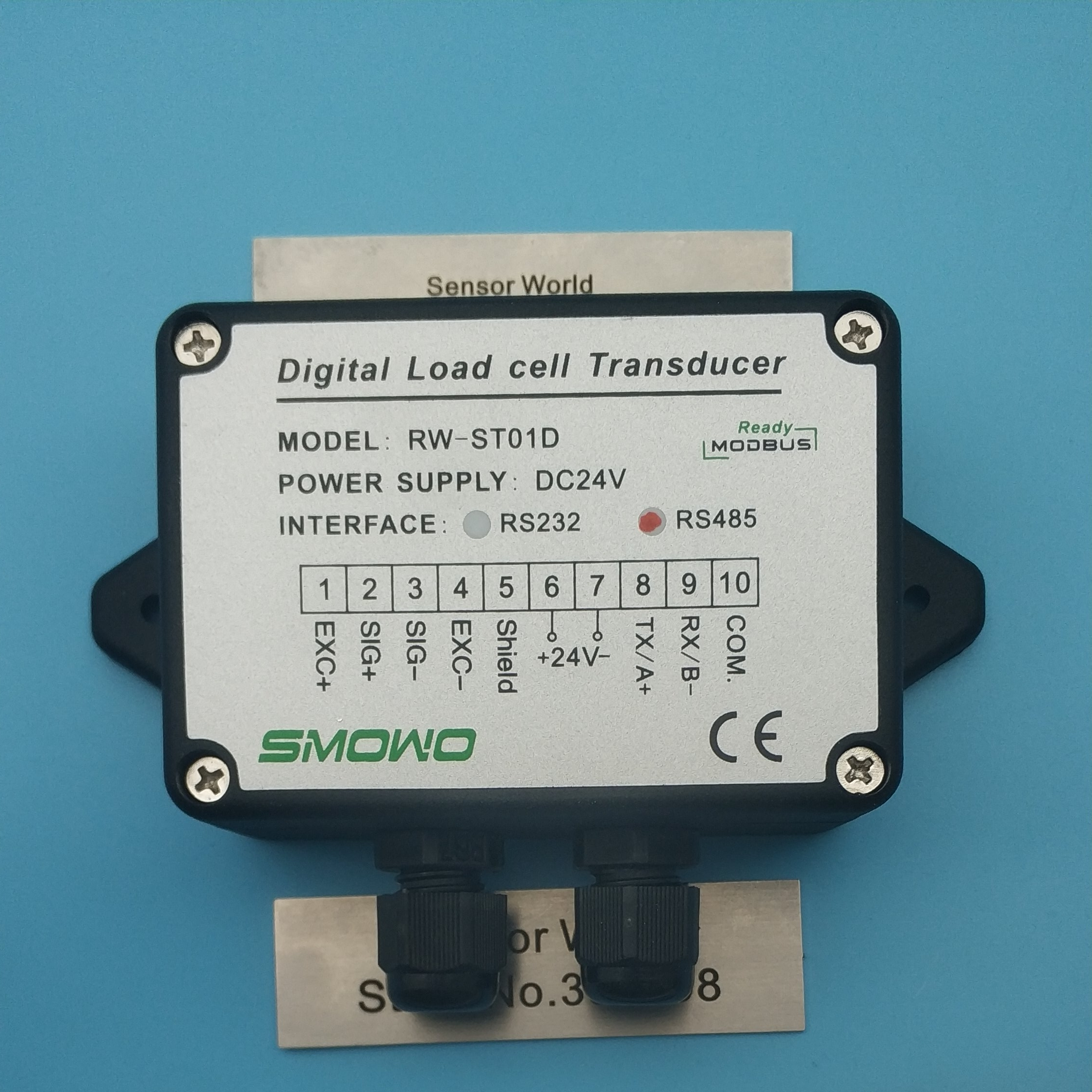 1PCSX  Load cell / Strain Gauge Amplifier RW-ST01D, RS485 ,485 /RS232  232 OUTPUT  weight amplifier