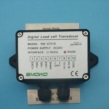1PCSXโหลดเซลล์/ความเครียดเครื่องขยายเสียงRW ST01D, RS485 ,485 /RS232 232เอาท์พุทเครื่องขยายเสียง