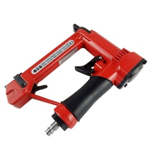 Nail Gun Electric Professional Pneumatic Woodworking Pneumatic Stapler  For Furniture Strips Kitchen Cabinets Floor Installation цены
