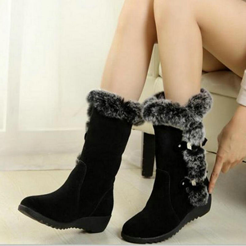 Women Boots 2016 New Arrival  Winter  Warm Snow Boots Fashion Heels Ankle  for Women Shoes Woman Boots botas mujer women boots botas femininas 2016 new arrival women winter boots warm snow boots fashion platform ankle boots for women shoes