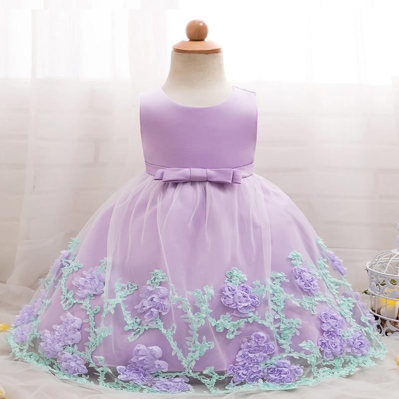 Jurk Kind Bruiloft.Bloemen Meisje Jurk Prinses En Bruiloft Verjaardag Baby Peuter Baby