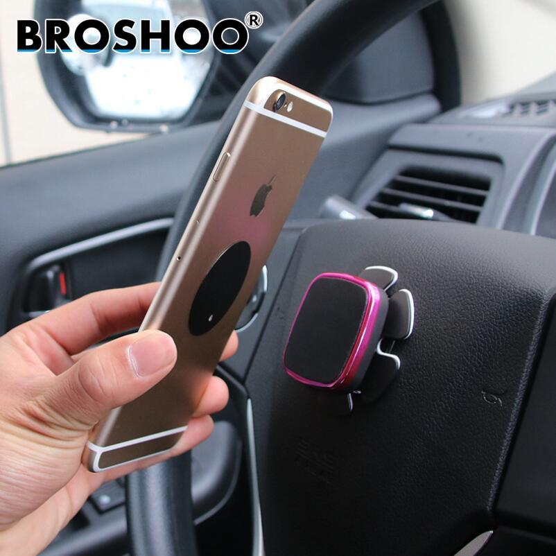BROSHOO Auto Styling Handy Halterung Automobil Lenkrad Magnet Handy ...