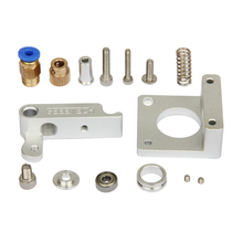 3D Printer Right-hand MK8 Extruder Aluminum Frame Block DIY Kit