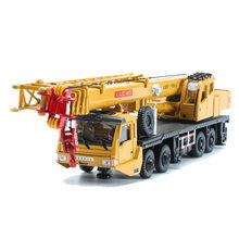 KAIDIWEI 1:55 Scale Alloy Crane Truck Toy Alloy Lifter Model Boys Trucks Collection Kids Toys Gift(China)