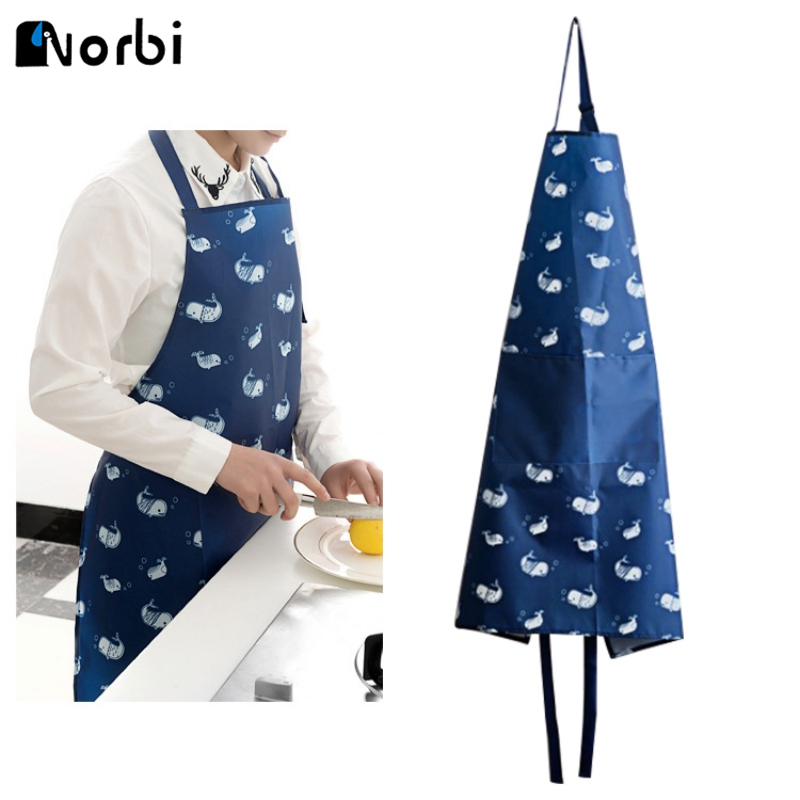 Kitchen Baking Cooking Aprons Sleeveless Restaurant Aprons For Women Home Oxford Apron Kitchen Accessories