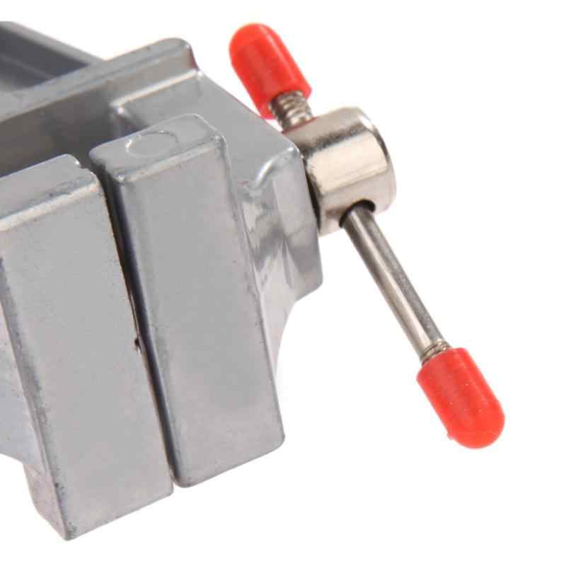 """3.5 """"Grampo No Quadro Em Miniatura De Alumínio Pequeno Hobby Jewelers Ferramenta Morsa Vice"""