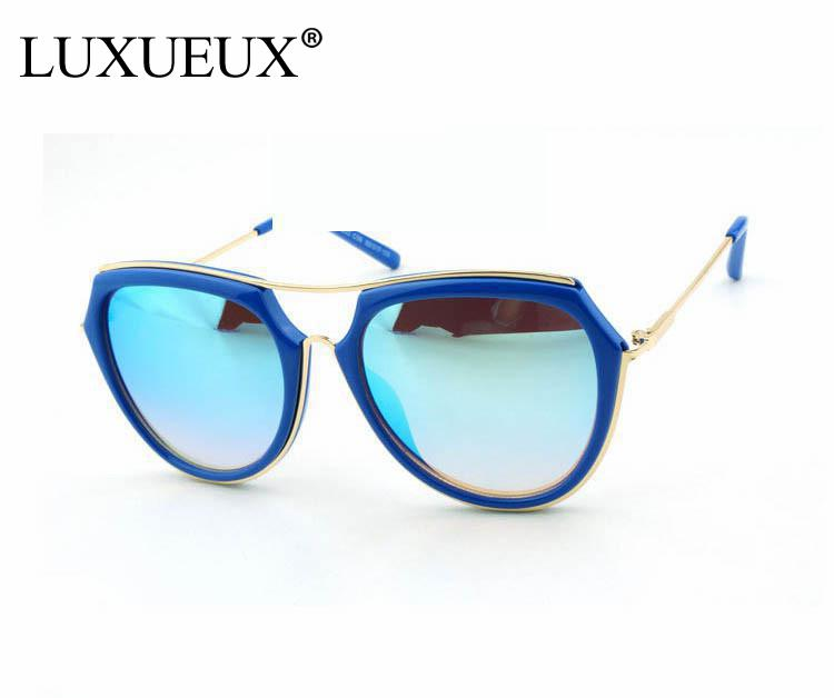 <font><b>High</b></font> <font><b>Quality</b></font> Lower Price Women Brand Designer Sunglasses With Colorful Mirror Lens Shaped New Arrival 2016Hot <font><b>High</b></font> Promotion