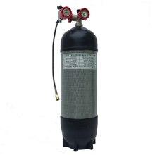 Acecare цилиндр высокого давления PCP винтовка 6.8L 300bar 4500psi пустой Воздушный бак из углеродного волокна заполняющий воздушный цилидер для дайвинга
