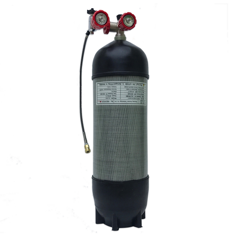 AC10610191 Acecare High Pressure Cylinder PCP Rifle 6.8L 300bar 4500psi Empty Carbon Fiber Air Tank Fill Air Cylider For Diving