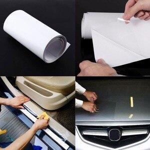 Image 5 - ドロップシッピング 10x300 センチメートル pvc 保護フィルム車のバンパーフッド保護ステッカーアンチスクラッチクリ透明フィルム