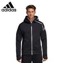 Original New Arrival 2019 Adidas M ZNE hd FR Men's Jacket Hooded Sportswear original new arrival 2018 adidas neo label m cs sweatshirt men s pullover jerseys sportswear
