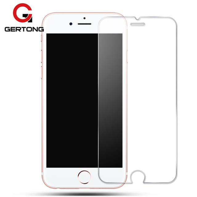 on sale d531b 42c5a US $0.67 25% OFF|Screen Protector Tempered Glass for iPhone 6 6S 7 8 Plus 5  5S SE 5C 4S X 6Plus XS Max Xr High Quality Toughened Protective Film-in ...