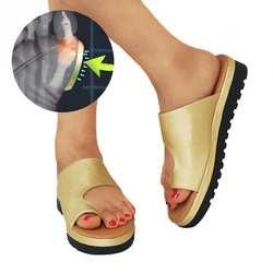 Женские удобные сандалии на платформе; уличная утолщенная Уличная обувь из искусственной кожи на плоской подошве; женские пляжные сандалии