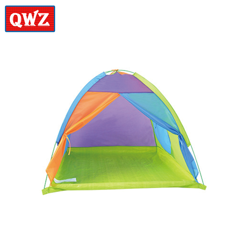 QWZ Portable Childrens Contrast color toy tent Outdoor Folding ball pool baby kids Toys Tent For children Birthday Present