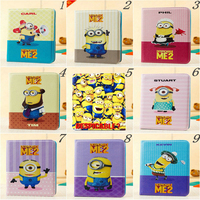 Hot Sale Precious Milk Dad Despicable Me Minions PU Leather Case Cover For IPad Air1 Ipad