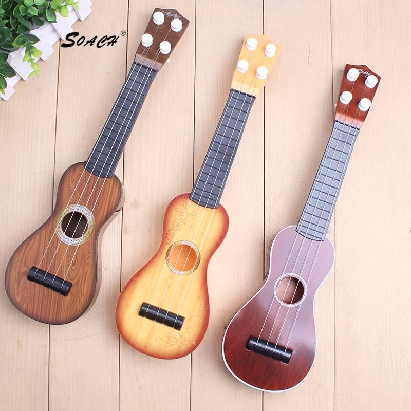 SOACH Vaikai mokosi Ukulele Soprano Sapele 12 Ukulelės gitara Mažoji gitara Ukelele Stygos Muzikos instrumentai