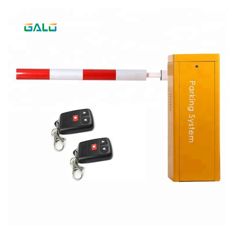 GALO Automatic Arm Boom Barrier Gate System Straight / Fence / Folding Boom Barriers Automatic Barrier Gate Boom Gate