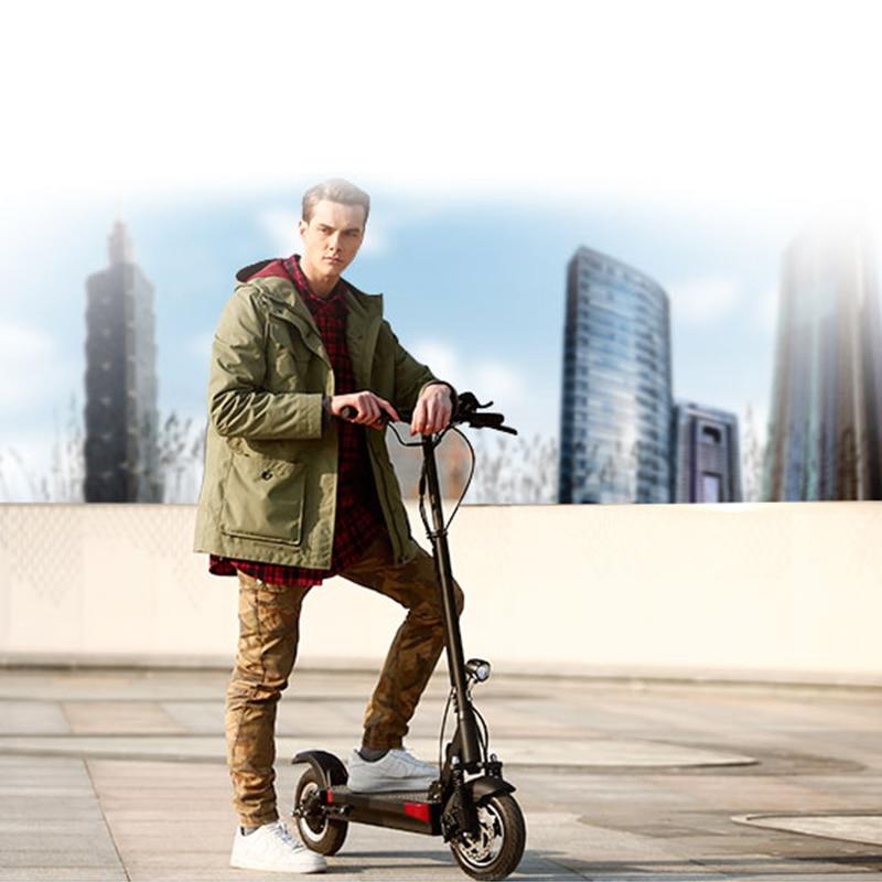 48 V 500 W longue distance scooter électrique max plus de 100 km 48 V 26A batterie au lithium pliant vélo électrique plus de 100 KM avec siège m365
