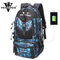 VKINGVSIX 14 17 Inch USB Laptop Backpack Waterproof School Bags Teenagers Boy Girl 1 6 Grade