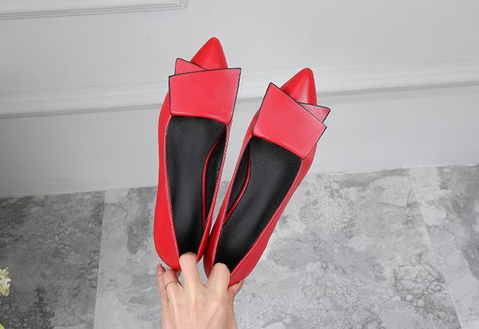 Nouveau Avec Une Seule Femmes Profonde Bouche Mariage Noir 2018 Bas Pointu Chaussure rouge De Et Peu Automne Printemps blanc Chaussures dw0ZxxYq6F