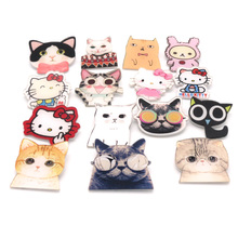 Amazing 100Pcs/Lot 189 Designs Shirt Cute Cartoon Decoration Brooch Badge Pin Harajuku Acrylic Fruit Animal Dog Cat Broche