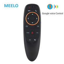 G10 Voice Air Mouse 2.4GHz Wireless Google Microphone Remote Control IR Learning 6-axis Gyroscope for Android TV Box PC Mini Fly(China)