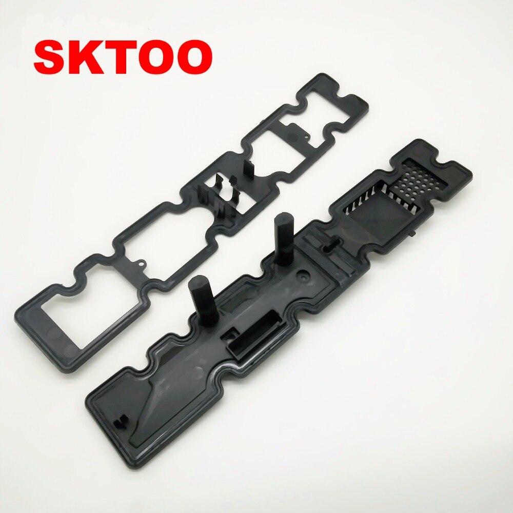 SKTOO 2 stücke Für Peugeot 508 408 307 C5 Sega Triumph 2,0 2,3 neue motor ventilkammer abdeckung pad echte ansaug-und 0249C7