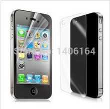 Full body Front and Back LCD Screen Protector Film For apple iphone 4 4s 4g Wholesale
