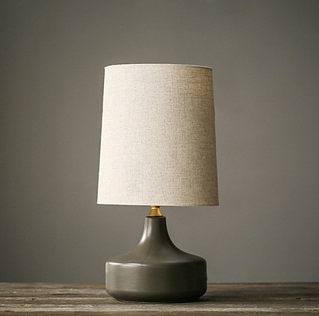 American style ceramic table lamp model room bedside table lamps ...