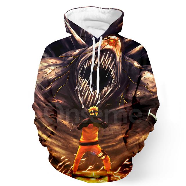 Naruto 3D Hoodies