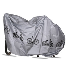 210*100 Waterproof Bicycle Rain Cover Anti Dust Proof Protector Garage For Scooter Motorcycle Of Accessory Silver Color