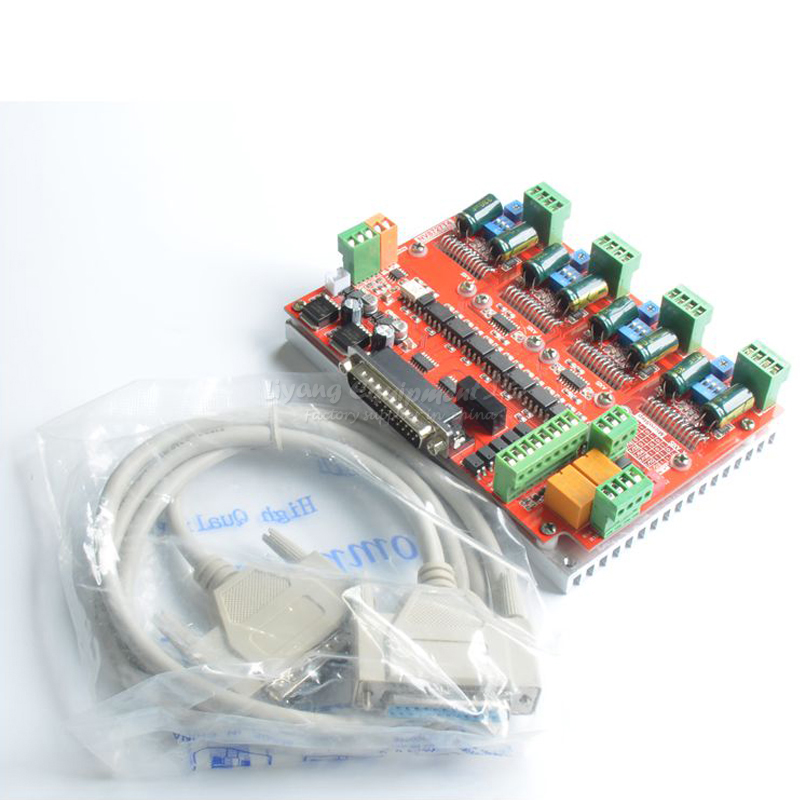 cnc milling machine actuator 4 axis cnc router stepper motor driver board LV8727 engraving tools