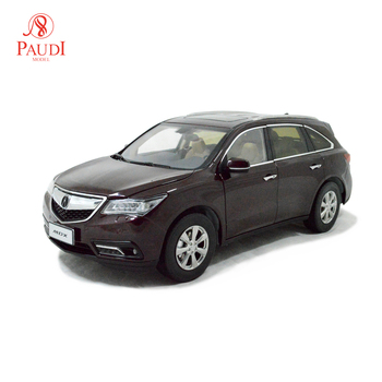 1/18 1:18 Scale Acura MDX 2016 Red Static Simulation Diecast Alloy Model Car Gifts Collections
