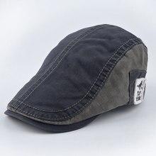 2016 summer and spring male XL vintage Berets man Good quality casquette gorras cap bone hats for women men Newsboy Artist hat
