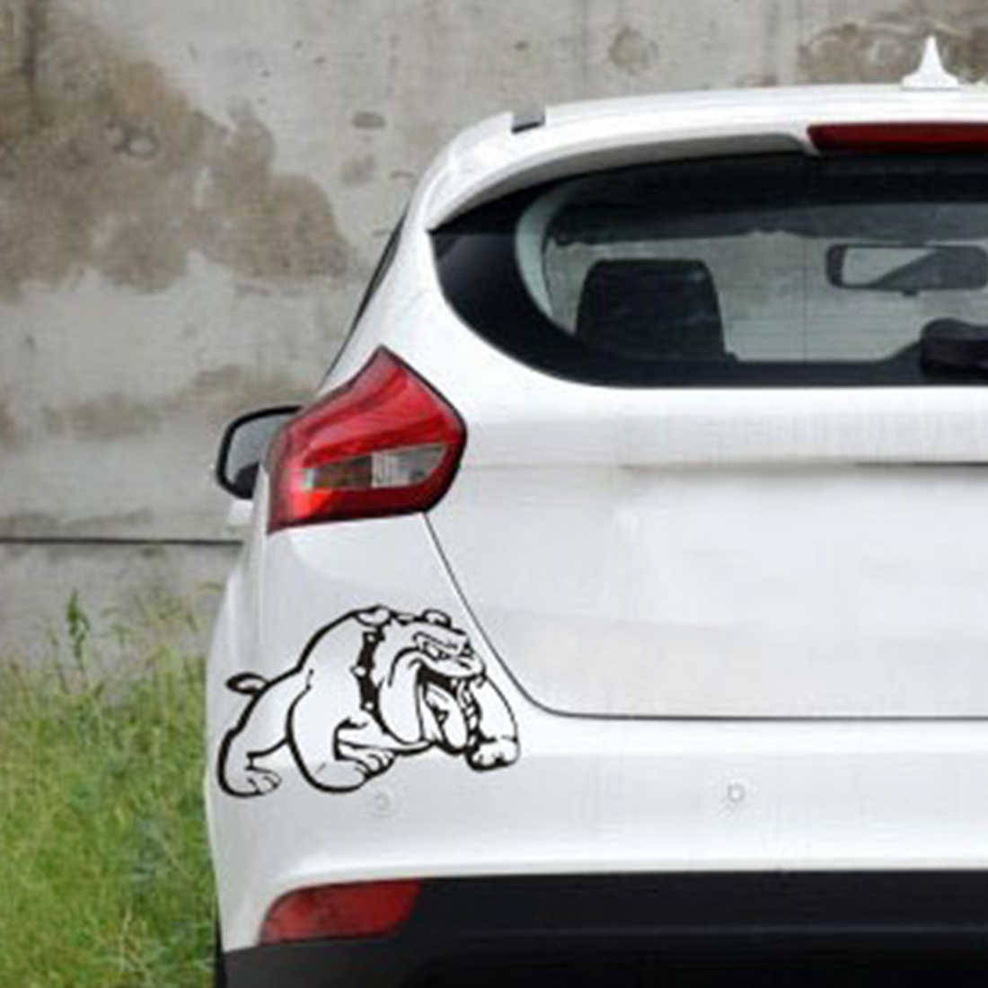 Puppy car stickers fierce harp dog personality scratches cover car stickers domineering car stickers car stickers