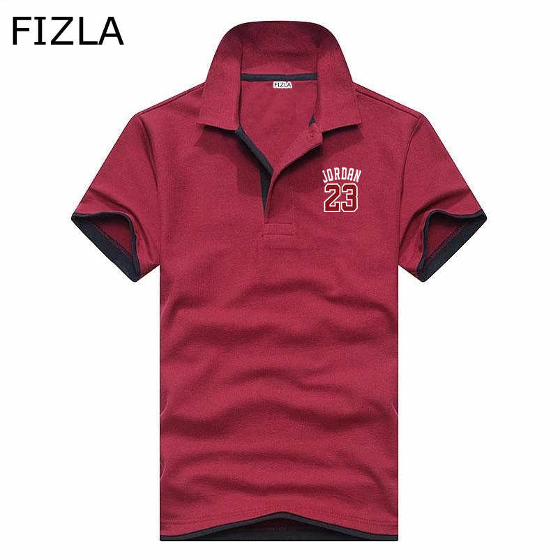 3e427c51bd2 ... Polo fashion Jordan 23 Polo Shirt Summer Boutique Business Casual Camisa  Polo men women Hip-