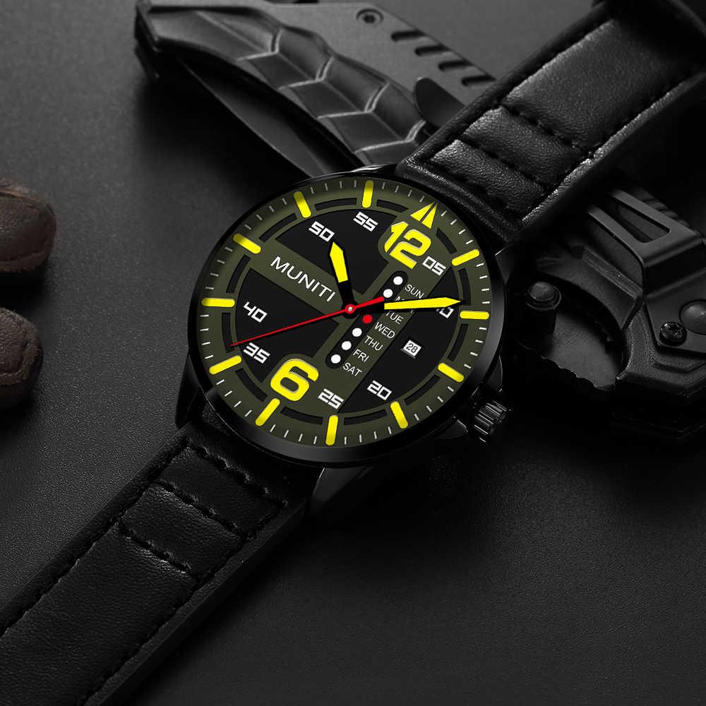 2019 AAA メンズファッション腕時計新男性スポーツクォーツバッテリー高級男性現代腕時計ギフトボックスカジュアル時計ブランド