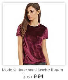 Mode vintage samt tasche frauen t-shirt