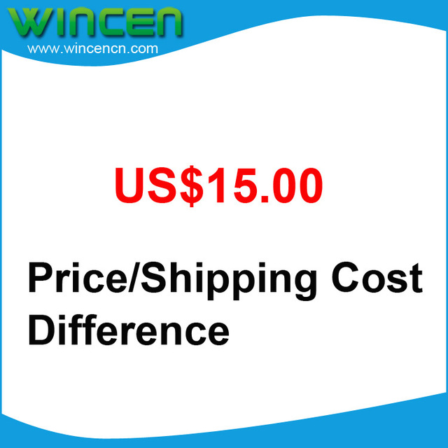 US$15 Price / Shipping Cost Difference Payment