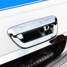 цена на For Jeep Compass 2017 2018 ABS Chrome Rear Boot Trunk Door Handle Cover Bowl Insert Trim Molding Car Styling  Accessories 1pcs