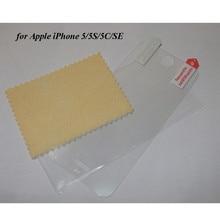 500 adet/grup DHL Tarafından iPhone 5 SE Için Clear Guard Ekran Koruyucu Için Apple iPhone 5C 5 S PET Film sherrytree