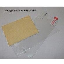 500 unids/lote por DHL para el iPhone 5 SE Protector claro Protector de pantalla para Apple iPhone 5C 5S película de PET sherrytree