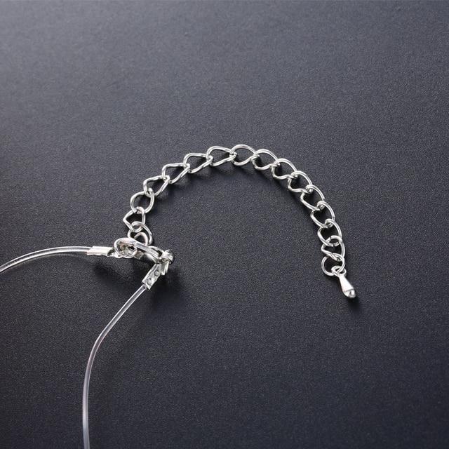Купить fym модное белое круглое ожерелье и подвеска летняя бохо прозрачная