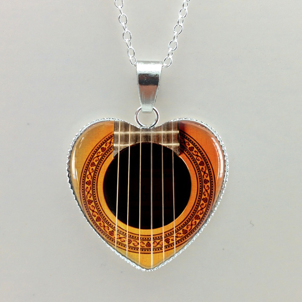 2015-new-girls-glass-cabochon-necklace-guitar-sound-hole-pendant-fontbmusic-b-font-necklace-silver-h