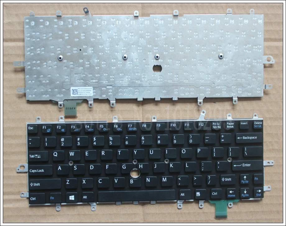 New Laptop Keyboard for sony vaio Duo 11 SVD11 D11 SVD11218CCB SVDII219CC SVD112A1SW US keyboard проточный водонагреватель atmor basic 3 5 квт кухня