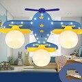 Авиационные светодиодные лампы  потолочная лампа для гостиной  спальни  лампа для детского сада  парка развлечений  магазин для мальчиков  д...